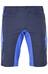 Endura Singletrack III fietsbroek kort met binnenbroek blauw